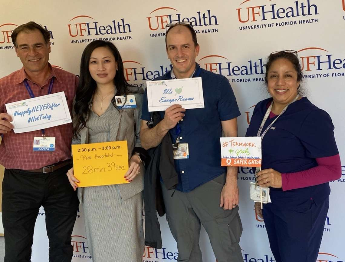 Dr. Freddie Guyer,  Dr. Thao Vu,  Dr. Eric Nelson, Christy Snively, APRN